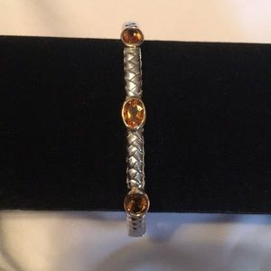 Lord & Taylor Jewelry - Lord and Taylor .924 and 14K Gold Bangle